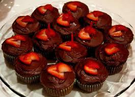 february cupcakes